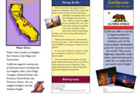 Top Travel Brochure Template For Students Ideas Printable regarding Student Brochure Template