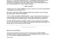 Translation Services intended for Birth Certificate Translation Template