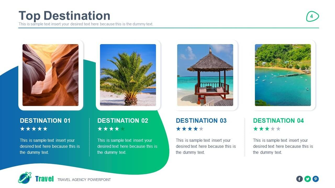 Travel Agency Powerpoint Template For Tourism Powerpoint Template