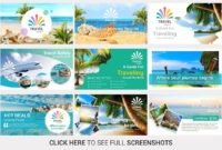 Travel Agency Powerpoint Templateslidesalad On With Regard To Tourism Powerpoint Template