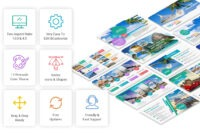 Travel And Tourism Keynote Presentation Template – Yekpix in Tourism Powerpoint Template
