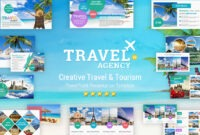 Travel And Tourism Powerpoint Presentation Template – Yekpix In Tourism Powerpoint Template