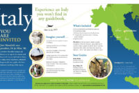 Travel Brochure Design | Favorite Q View Full Size | Travel within Country Brochure Template