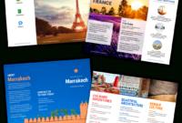 Travel Brochure Templates – Make A Travel Brochure – Venngage for Island Brochure Template