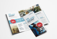 Travel Company Trifold Brochurebrandpacks On throughout Travel Guide Brochure Template
