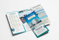 Travel Hotel Tri-Fold Brochure Template within Hotel Brochure Design Templates
