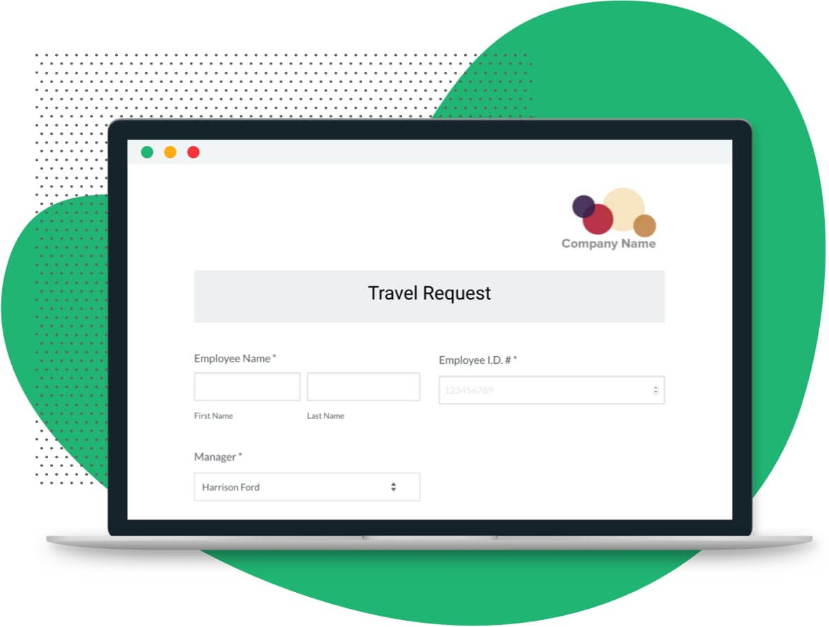 Travel Request Form Template | Formstack Within Travel Request Form Template Word