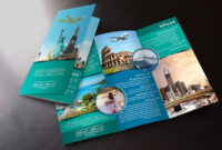 Travel & Tour Trifold Flyers On Behance | Travel Brochure in Travel Guide Brochure Template