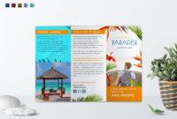 Travel Tri Fold Brochure Template | Brochure Examples inside Travel Guide Brochure Template