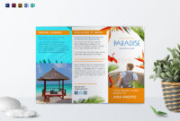 Travel Tri Fold Brochure Template Throughout Word Travel Brochure Template