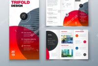 Tri Fold Brochure Design. Business Template For Tri Fold with regard to 3 Fold Brochure Template Free