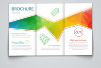 Tri-Fold Brochure Design Template With Modern throughout Tri Fold Brochure Template Illustrator Free
