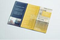 Tri Fold Brochure   Free Indesign Template regarding Z Fold Brochure Template Indesign