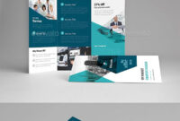 Tri-Fold Brochure Template Indesign Indd – A4 & Us Letter pertaining to Letter Size Brochure Template