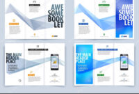 Tri-Fold Brochure Template Layout, Cover Design, Flyer In A4 inside Engineering Brochure Templates