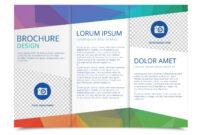 Tri Fold Brochure Vector Template – Download Free Vectors within 3 Fold Brochure Template Free Download