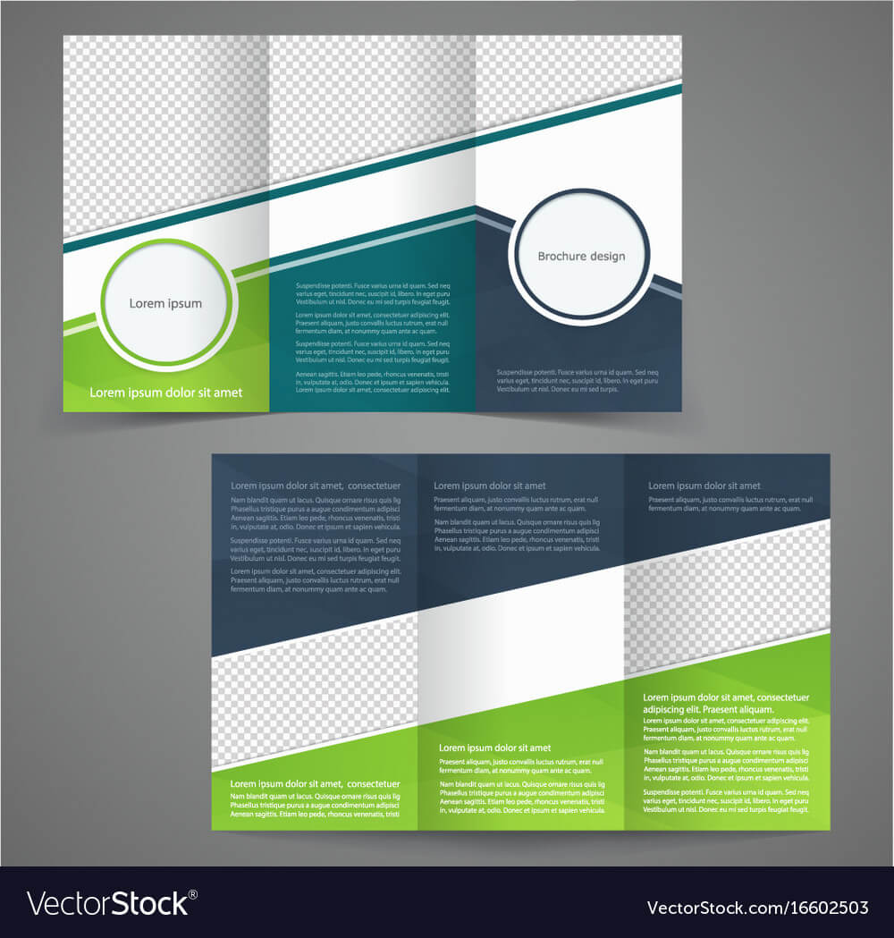 Tri Fold Business Brochure Template Two Sided With Free Tri Fold Business Brochure Templates