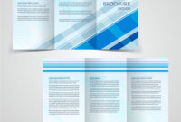 Tri-Fold Business Brochure Template Two-Sided with regard to Free Tri Fold Business Brochure Templates
