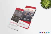 Tri-Fold Corporate Business Brochure Template inside Tri Fold Brochure Publisher Template