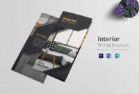 Tri Fold Interior Brochure Template | Brochure Design pertaining to Architecture Brochure Templates Free Download