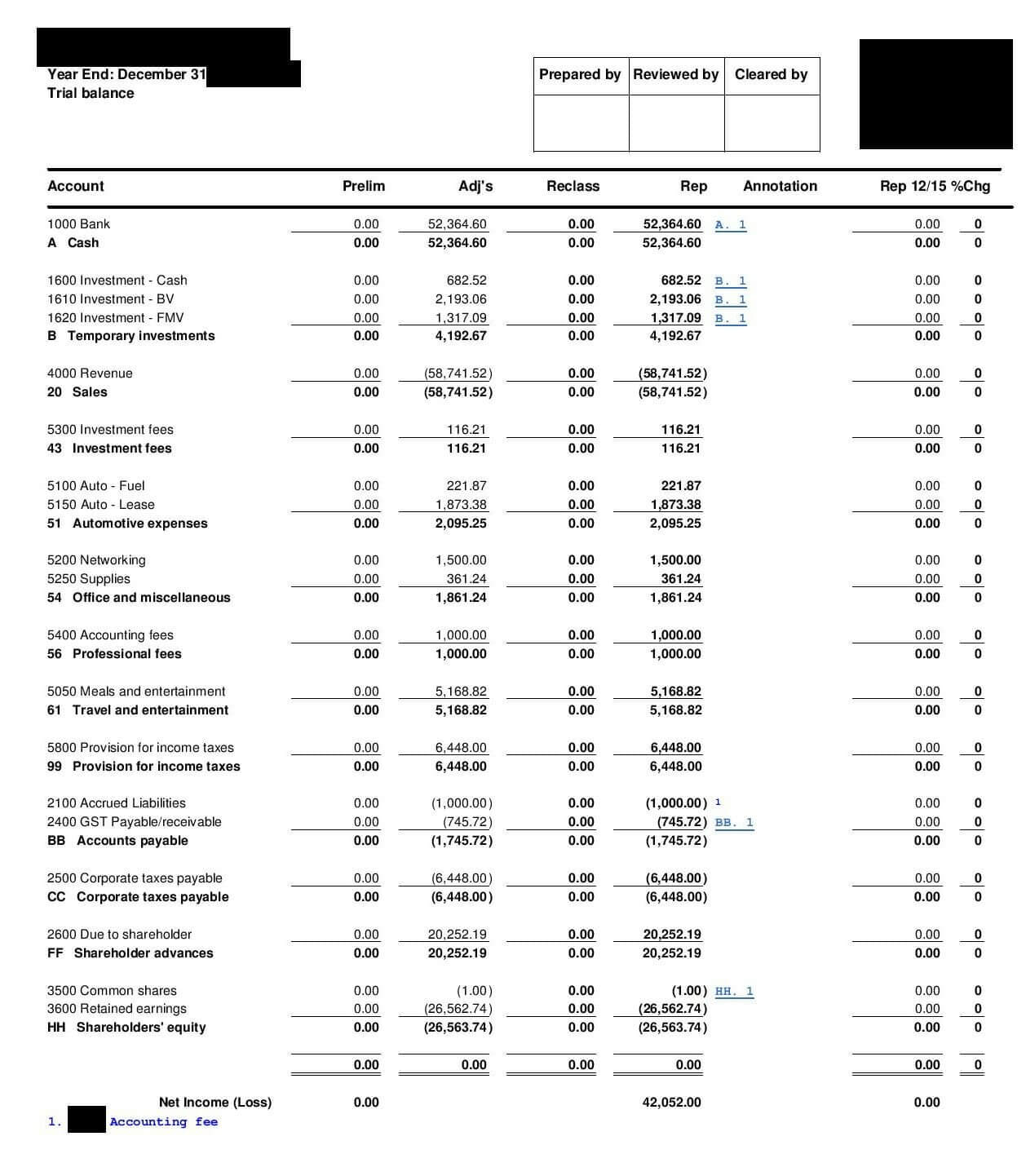 Trial Balance – Overview, What's Included, And Examples Within Trial Report Template
