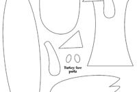 Turkey Head Template Printable | Turkey Template, Turkey inside Blank Turkey Template