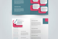 Two Page Fold Brochure Template Design regarding One Page Brochure Template