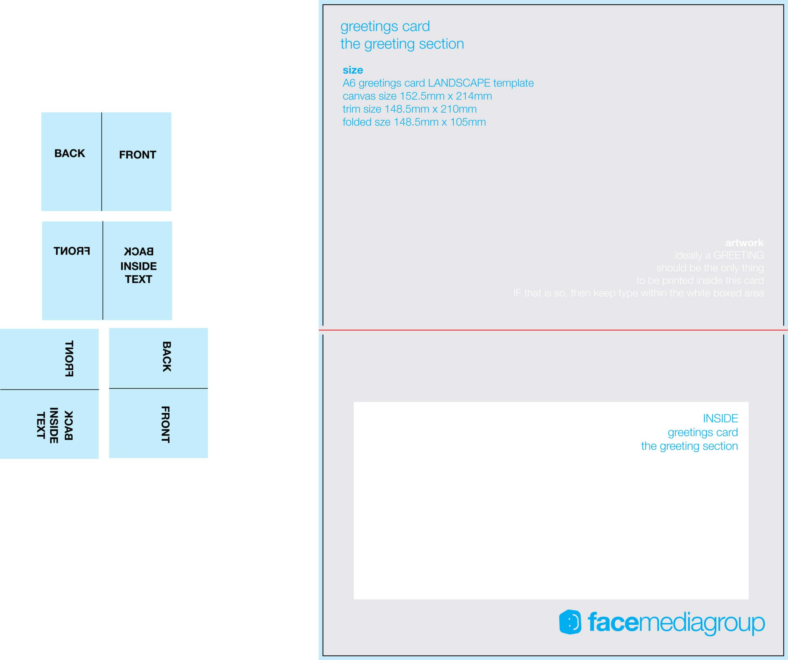 Unforgettable Blank Quarter Fold Card Template Free Ideas Within Card Folding Templates Free