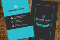 Unique Business Card Template For Photoshop Offers with regard to Visiting Card Templates For Photoshop
