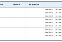 User Story Template Examples For Product Managers | Aha! inside User Story Word Template