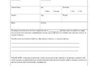 Vaccination Certificate Format – Fill Online, Printable For Certificate Of Vaccination Template