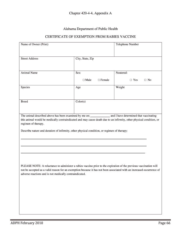 Vaccination Certificate Format – Fill Online, Printable Inside Rabies Vaccine Certificate Template
