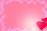 Valentine Backgrounds For Powerpoint – Border And Frame Ppt inside Valentine Powerpoint Templates Free