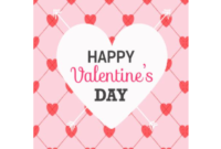 Valentine's Day Card Template – 5 Free Templates In Pdf pertaining to Valentine Card Template Word