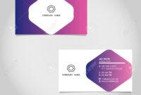 Vector Business Card Template Design Adobe Illustrator with Adobe Illustrator Card Template