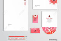 Vector Identity Templates. Letterhead, Envelope, Business Card,.. intended for Business Card Letterhead Envelope Template