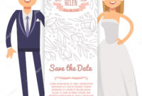 Vector Wedding Banner Template. Decorative Flyer With Bride for Bride To Be Banner Template