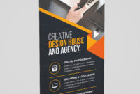 Versatile Rollup Banner Template for Photography Banner Template