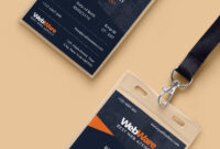 Vertical Company Identity Card Template Psd | Identity Card throughout Id Card Design Template Psd Free Download