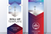 Vertical Roll Up Banner Template Design intended for Pop Up Banner Design Template