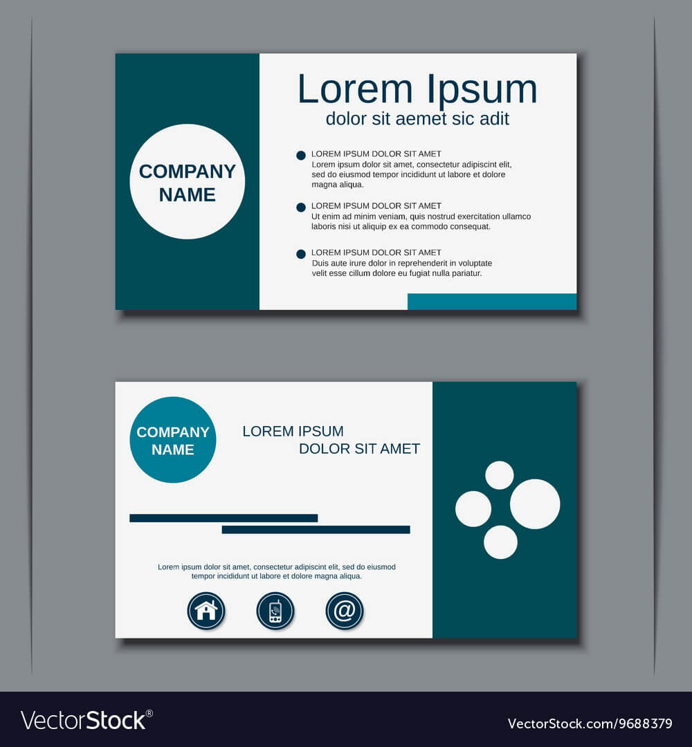 Visiting Card Design Template Intended For Designer Visiting Cards Templates