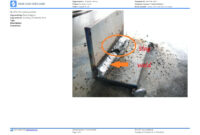Visual Weld Inspection Template – Better Than Pdf And Excel Regarding Welding Inspection Report Template