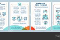 Volunteers Finding Brochure Template Layout Volunteering in Volunteer Brochure Template