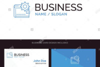 Wallet, Cash, Finance, Money, Personal, Purse, Making Blue with Business Card Maker Template