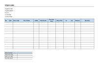 Warehouse Stock Card | Templates At Allbusinesstemplates inside Boyfriend Report Card Template