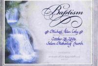 Water Baptism Certificate Templateencephaloscom inside Christian Certificate Template