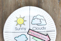 Weather Chart Kid Craft | Preschool Weather, Weather Crafts intended for Kids Weather Report Template