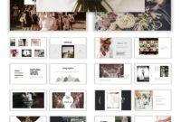 Wedding Album Ppt Templates | Templatemonster Regarding Powerpoint Photo Album Template