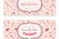 Wedding Banner Template. Stock Vector. Illustration Of inside Wedding Banner Design Templates