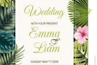 Wedding Event Invitation Card Template. Stock Vector with Event Invitation Card Template